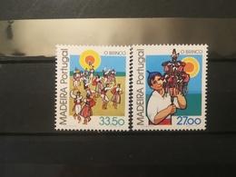FRANCOBOLLI STAMPS PORTOGALLO PORTUGAL MADEIRA 1982 MNH** NUOVI  SERIE COMPLETA NATIONAL CUSTOMS - Madeira