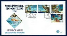 Antillas Holandesas Nº 987/90 (sobre Primer Día) - Antillas Holandesas