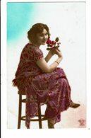CPA - Carte Postale Pays Bas - Jeune Femme Assise -1926-VM4008 - Vrouwen