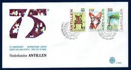 Antillas Holandesas Nº 984/6 (sobre Primer Día) - Antillas Holandesas