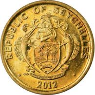 Monnaie, Seychelles, 5 Cents, 2012, British Royal Mint, TB+, Laiton - Seychellen