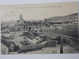 Triel-sur-Seine, La Seine, Panorama De Triel, Pris De L'hôtel De La Gare. - Triel Sur Seine