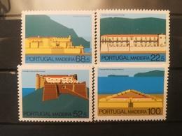FRANCOBOLLI STAMPS PORTOGALLO PORTUGAL MADEIRA 1986 MNH** NUOVI  SERIE COMPLETA FORTRESS MADEIRA FORTEZZA - Madeira