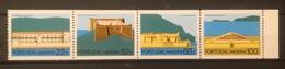 FRANCOBOLLI STAMPS PORTOGALLO PORTUGAL MADEIRA 1986 MNH** NUOVI  SERIE COMPLETA FORTRESS MADEIRA FORTEZZA IN BLOCCO - Madeira