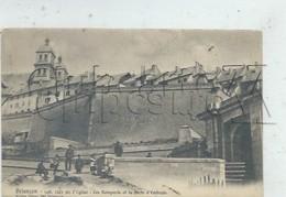 Briançon (05) : La Porte D'Embrun En 1910 (animé) PF. - Briancon