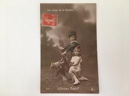 AK Les Deux De La Guerre L'oiseau Captif Propaganda German Eagle - Oorlog 1914-18