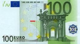 EURO ITALY 100 S J022 A1 TRICHET UNC - EURO