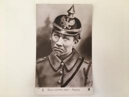 AK Nous Sommes Bien Foutus Deutsche Soldat Militaire Allemand Pickelhaube - Oorlog 1914-18