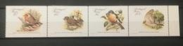 FRANCOBOLLI STAMPS PORTOGALLO PORTUGAL MADEIRA 1988 MNH** NUOVI SERIE COMPLETA UCCELLI RARI BIRDS RARE IN BLOCCO - Madeira