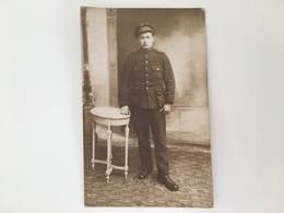 Foto AK Soldat België Belge Soldier Soldaat Militair Uniform Regiment 13 - Guerre 1914-18
