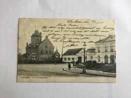 LOKEREN 1905    GARE ET TELEGRAPHE - Lokeren