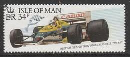 Isle Of Man 1988 Rally Isle Of Man 34 P Multicolored SW 361 O Used - Isle Of Man
