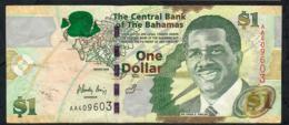 BAHAMAS P71 1 DOLLAR 2008 #AA  VF - Bahamas
