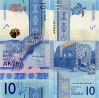 ARUBA       10 Florin       P-New       1.1.2019       UNC - Aruba (1986-...)