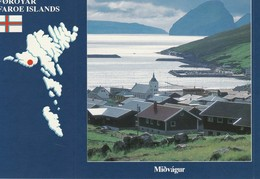 Foroyar  Faroe Islands Midvagur - Faroe Islands