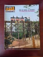 """La Vie Du Rail N° 1054 Senlis Fleurines """" Vallée Des Peaux-Rouges """" - Ligne Brétigny-Vendôme - Colonie Pommerit-Jaudy - Trains"""