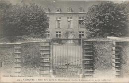 CPA 261- MANCHE (50) - Valognes Hotel De La Grille Du Mesnildot Ou Charles X Séjourna Du 13 Au 16 Aout 1830 - Valognes