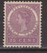 Nederlandse Antillen Curacao 39 MLH Ong ; Queen Koningin Reine Reina Wilhelmina 1903 - Curacao, Netherlands Antilles, Aruba