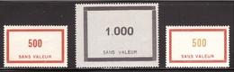 FICTIFS 3 Valeur Avions 94 + 95 + 115 ** - Fictifs