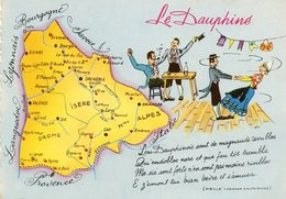 Edit CELLARD...LE DAUPHINE - Landkarten