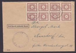SBZ OPD Ostsachsen MiNr. 56, 3 Pfg. (8) Fernbrief Radeberg, Aptierter Briefstempel 6.3.46, Kurz Nach Portoerhöhung - Zone Soviétique