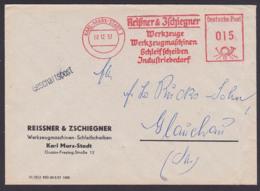 Karl-Marx-Stadt Germany East AFS 02.12.57, Werkzeuge Schleifscheiben Werkzeugmaschinen Reißner & Zschiegner - [6] Oost-Duitsland