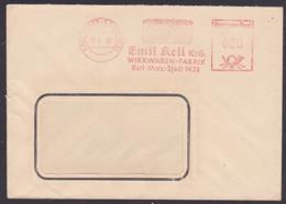 Karl-Marx-Stadt W33, Germany East AFS 12.5.60, Wirkwarenfabrik Emil Keil - Marcofilie - EMA (Print Machine)