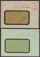 """Klein Wittenberg (Elbe) AFS 27.7.48 Und 15.1.51, Gummiwerke """"Elbe"""" Gegr. 1898, Rs. Abs. Aptiert, Elbit-Schuhe - Zona Soviética"""