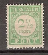 Nederlandse Antillen Curacao Port 21 MLH ; Port, Due Stamp, Franqueo - Curaçao, Nederlandse Antillen, Aruba