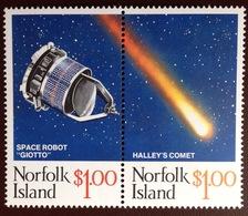Norfolk Island 1986 Halley's Comet MNH - Norfolk Island