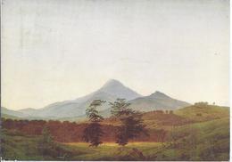 AK-34595   -   Caspar David Friedrich - Böhmische Landschaften , - Milleschauer Bei Treplitz - Peintures & Tableaux