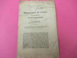 Fascicule/Botanique/Rev Des 2 Mondes/Le Morcellement De L'espèce En Botanique Et Le Jordanisme/JE PLANCHON/1874    MDP92 - Libri, Riviste, Fumetti