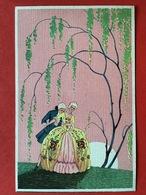 1934 - ART DECO - VERLIEFD KOPPEL - AMOUREUX SOUS ARBRE - Couples