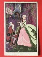 1932 - ART DECO - VERLIEFD KOPPEL - HARP - HARPE - AMOUREUX - MUSIQUE - Couples