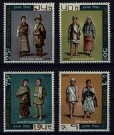 Nepal 1973 - Trachten  Folk Costume - MiNr 279-282 - Kostüme