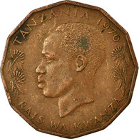 Monnaie, Tanzania, 5 Senti, 1976, TB+, Bronze, KM:1 - Tanzanía