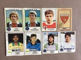 8 STICKERS PANINI  *Football 79  *Football 81  *Football 90 - Italian Edition
