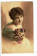 CPA - Carte Postale Pays Bas- Dame Avec Un Bouquet De Fleurs-1920- VM4027 - Vrouwen
