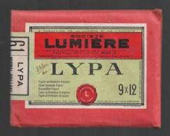 Pochette Complète Lumiière  LYPA   Papier Au Bromure D'argent  Format 9x12 - Matériel & Accessoires