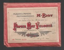 Pochette Complète Papier Mat Velouté  BIOT  Usines à Macon  20 Feuilles 9x12 - Matériel & Accessoires
