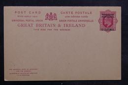 MAROC - Entier Postal Surchargé Non Circulé - L 33531 - Morocco Agencies / Tangier (...-1958)