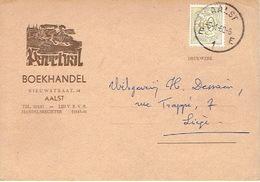 Postkaart Publicitaire 1960 AALST - PARCIVAL - Boekhandel - Aalst