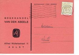 PK Publicitaire AALST 1959 - VAN DEN ABEELE - Boekhandel - Aalst