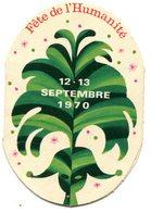 Vignette D'entrée à La Fête De L'Humanité 1970 - Tickets - Entradas