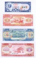 North Korea 6 Note Set 1959 COPY - Korea, North