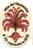 Vignette D'entrée à La Fête De L'Humanité 1972 - Tickets - Vouchers