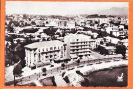 Wes064 Rare ANTIBES (06) Hotel ROYAL En AVION Au Dessus BORD De MER 1950s Photo-Bromure LAPIE Service Aérien 15x10 - Antibes
