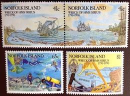 Norfolk Island 1990 Wreck Of The Sirius MNH - Norfolk Island