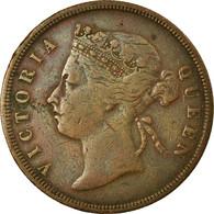 Monnaie, Straits Settlements, Victoria, Cent, 1887, Paris, TB+, Bronze, KM:16 - Malasia