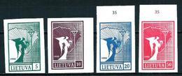 Lituania Nº 390/3 (sin Dentar) Nuevo - Lituania